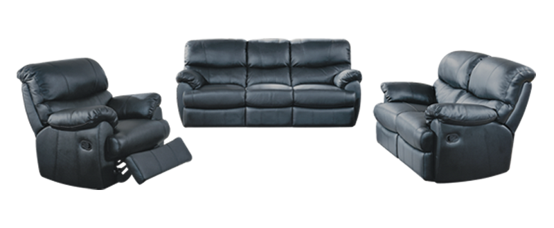 Full Genuine Leather Recliners Ted S Home Store